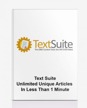 Text Suite – Unlimited Unique Articles In Less Than 1 Minute