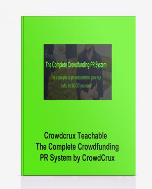 Crowdcrux Teachable – The Complete Crowdfunding PR System by CrowdCrux