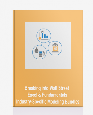 Breaking Into Wall Street – Excel & Fundamentals + Industry-Specific Modeling Bundles