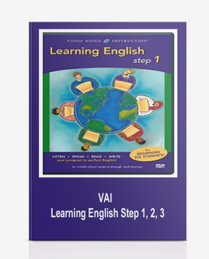 VAI – Learning English Step 1, 2, 3