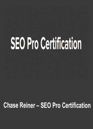 Chase Reiner – SEO Pro Certification